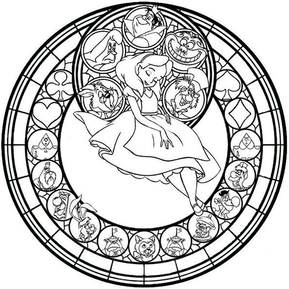 disney 8  mandalas zum ausdrucken  ausmalbilder
