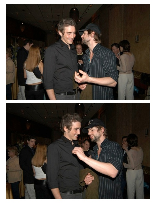 Lee Pace with Gale Horald