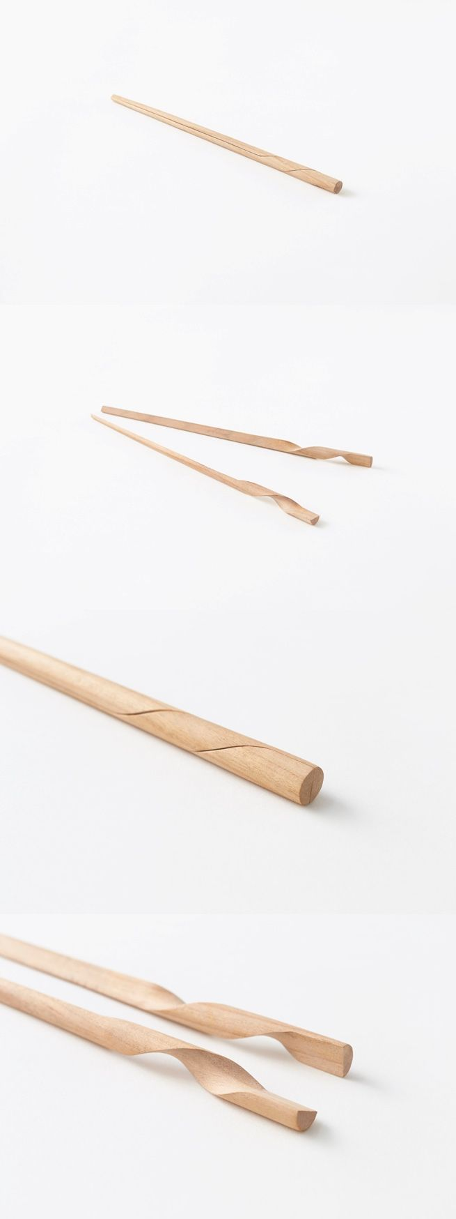 Two chopsticks in one.