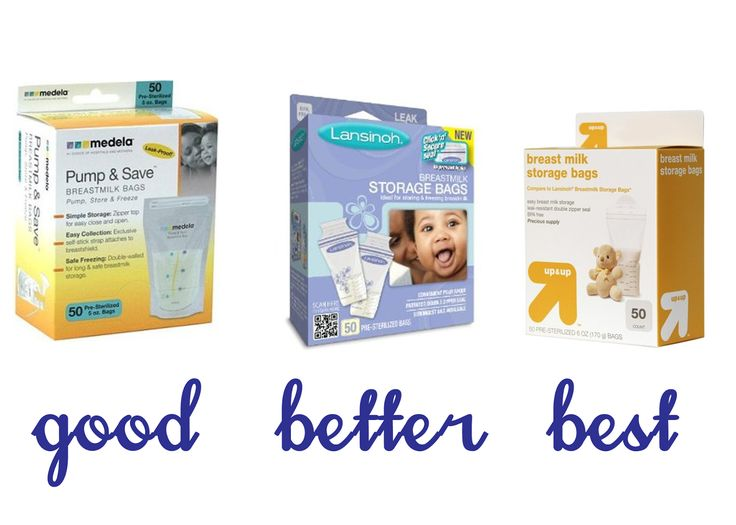 Live and Learn: Buy This, Not That: Breastmilk Freezer Storage Bags