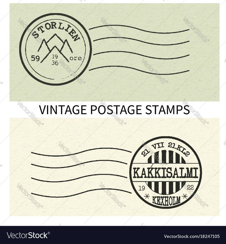 vintage postage stamps from Scandinavia. Download a Free Preview or High Quality Adobe Illustrator Ai, EPS, PDF and High Resolution JPEG versions.