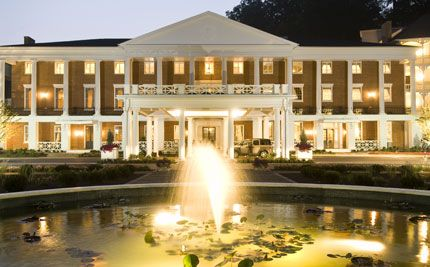 Bedford Springs Omni Hotel in PA - love the pub at the hotel, the fire pit outside, the beautiful swimming pool, the awesome scenery, the trails, and all the antique shops in town!