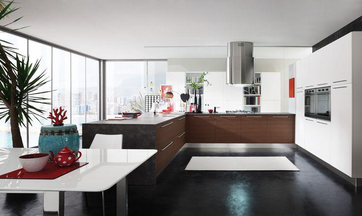 #cucine #cucine #kitchen #kitchens #modern #moderna #gicinque #slim gicinque.com/...