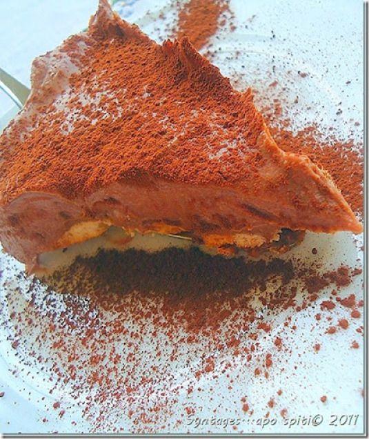 Απόλαυση χωρίς θερμίδες! Τούρτα σοκολάτα-μπισκότο με μόνο 4 υλικά! | YOU WEEKLY