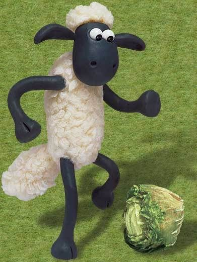 Shaun the sheep; I love this show!