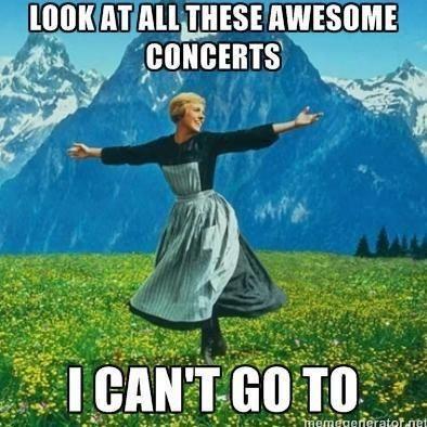 The 1975, Panic! At The Disco, Paramore, Twenty One Pilots, Melanie Martinez, Ed Sheeran, etc... *sigh*