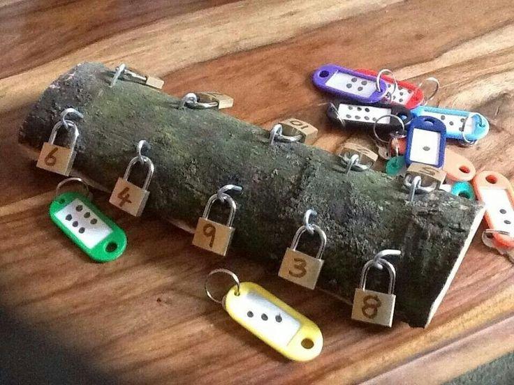 Locks and keys numeracy