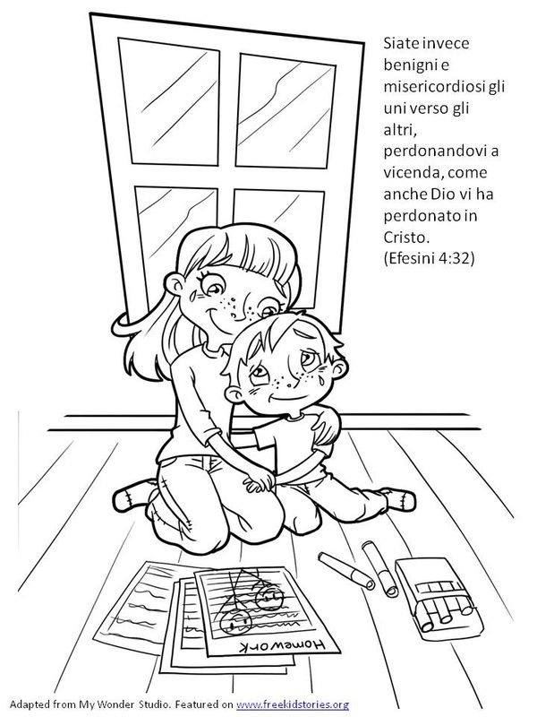 Ben noto Oltre 25 fantastiche idee su Versetti della bibbia per bambini su  DF96