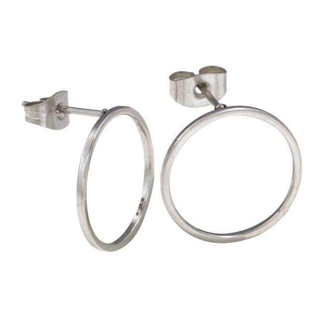 Ingnell Jewelllery - Lotta earring steel. Stainless steel. www.ingnelljewellery.com