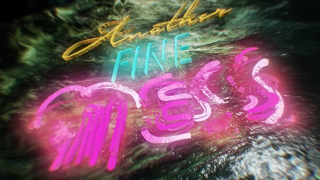 Abstract experimental piece...  Animated bump and texture maps in Element 3D, in After Effects.
