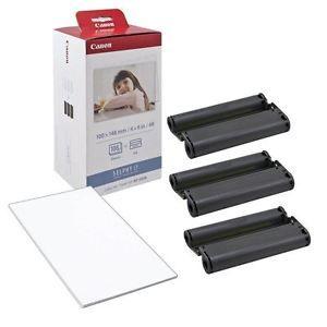 a canon kp 108in cartucho de tinta y 108 x 4x6 papel fotografico pack para selphy cp 900