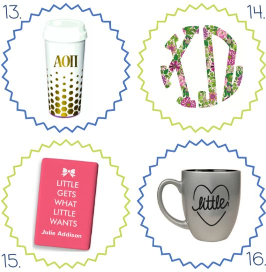 16 Cute Big/Little Gifts Under $20 — sorority sugar