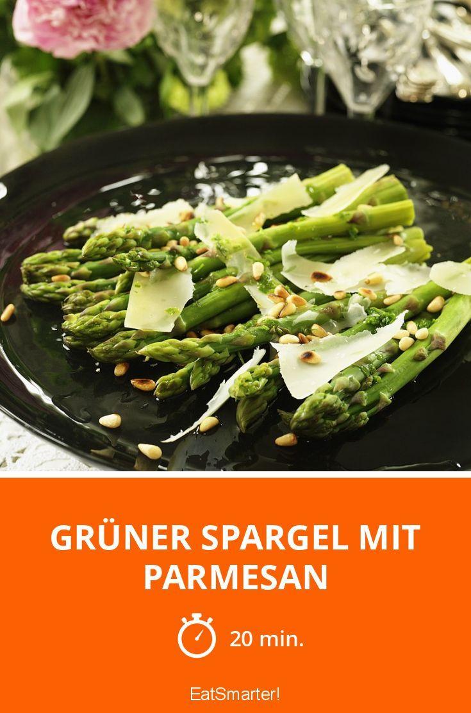Grüner Spargel und Parmesan – ein wahrer Genuss!