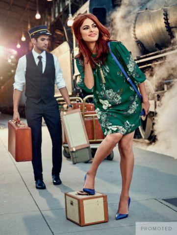 Eva Mendes Collection - Sabrina Dress - Floral  - New York & Company