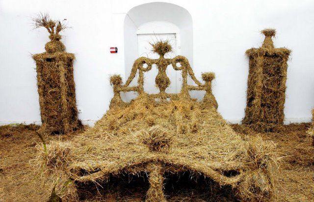 hay-bed