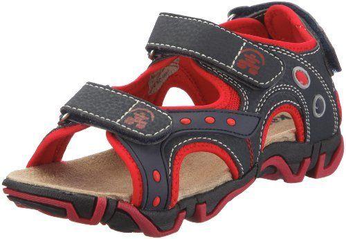 Kamik Lagoon HK4472 Sandal (Little Kid) Kamik. $17.36. Rubber sole. Made in China. Waterproof synthetic leather^Flexible sole^Adjustable heel strap^Misture wicking lining.^Ethylene vinyl acetate footbed. Manmade