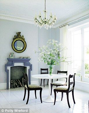 PALE: Paler shades of grey will vary enormously according to the natural light in the room...