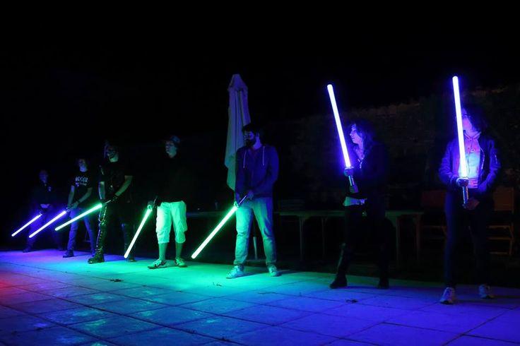 Cours de sabre laser par La Sport Saber League de Cholet #JeSuisUnJedi #jedi #sabre #laser #YenAtoujoursDeuxQuiSuiventPas (photo Ocsozon le Sage)