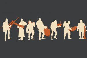 video Games, Team Fortress 2, Minimalism Wallpaper