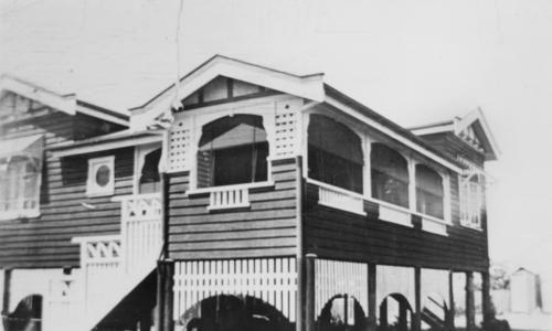 Looks like ours. J. B. Joynes' new home at Fraser Street, Ashgrove, Brisbane. (Around 1926)