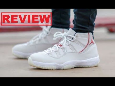 quality design 6aa42 8aa45 Air Jordan 11 XI Platinum Tint Retro Sneaker HONEST Shoe ...