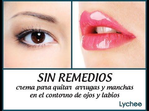 SIN REMEDIOS crema para quitar arrugas y manchas en contorno de ojos y labios   Yadira Posada - YouTube