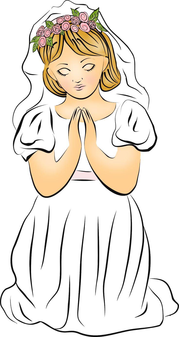 Digi stemple by AliceCreations: 38. Pierwsza Komunia Święta - Dziewczynka II