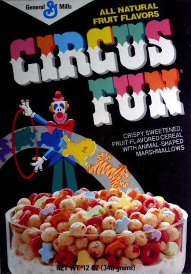 Circus Fun Cereal | 25 Cereals From The '80s You Will Never Eat Again