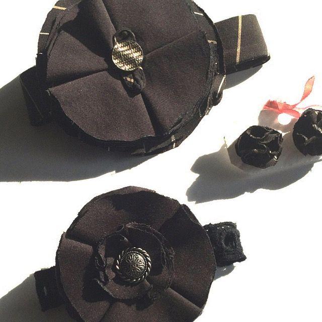 BissBiss   #bissbiss #shopbissbiss #fabricflowers #flowers #handmade #handmadewithlove #ooak #accessories #ecofashion #sustainable   #barrettes #earrings
