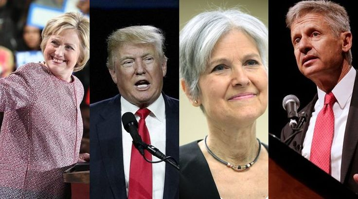 US presidential elections, US elections 2016, US president, American president, Hillary Clinton, Donald Trump, Jill Stein, Gary Johnson, US elections candidates, US elections nominees, Republicans, Democrats, Libertarians, Green party, president of america