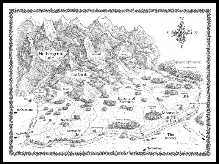 I like to read the maps and follow the characters on their journey. I'm actually reading this book right now.  (The Nethergrim)