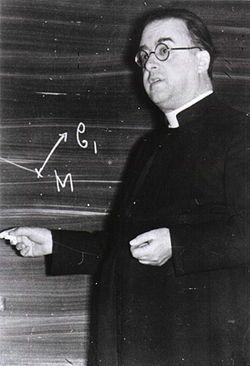 Monseigneur Georges Lemaître, priest and scientist