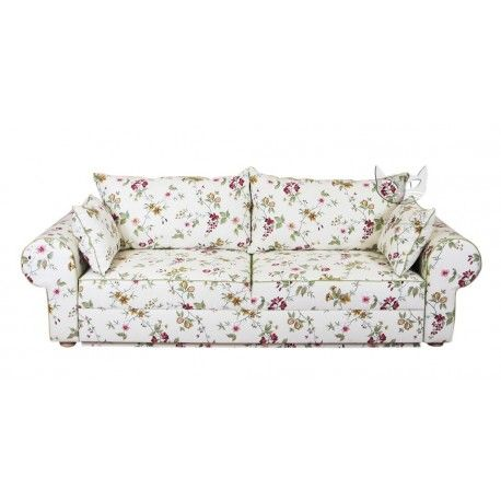 Sofa w stylu vintage - Rosaly 266, bok 33 cm