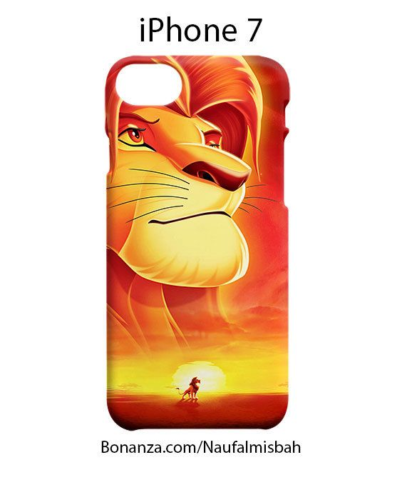 Lion King Movie iPhone 7 Case Cover Wrap Around