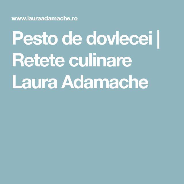 Pesto de dovlecei | Retete culinare Laura Adamache
