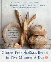 Gluten-free Bread in Five Minutes a Day. I am so happy I could cry!!!! I love their two other books (and they only have one chapter each for GF)