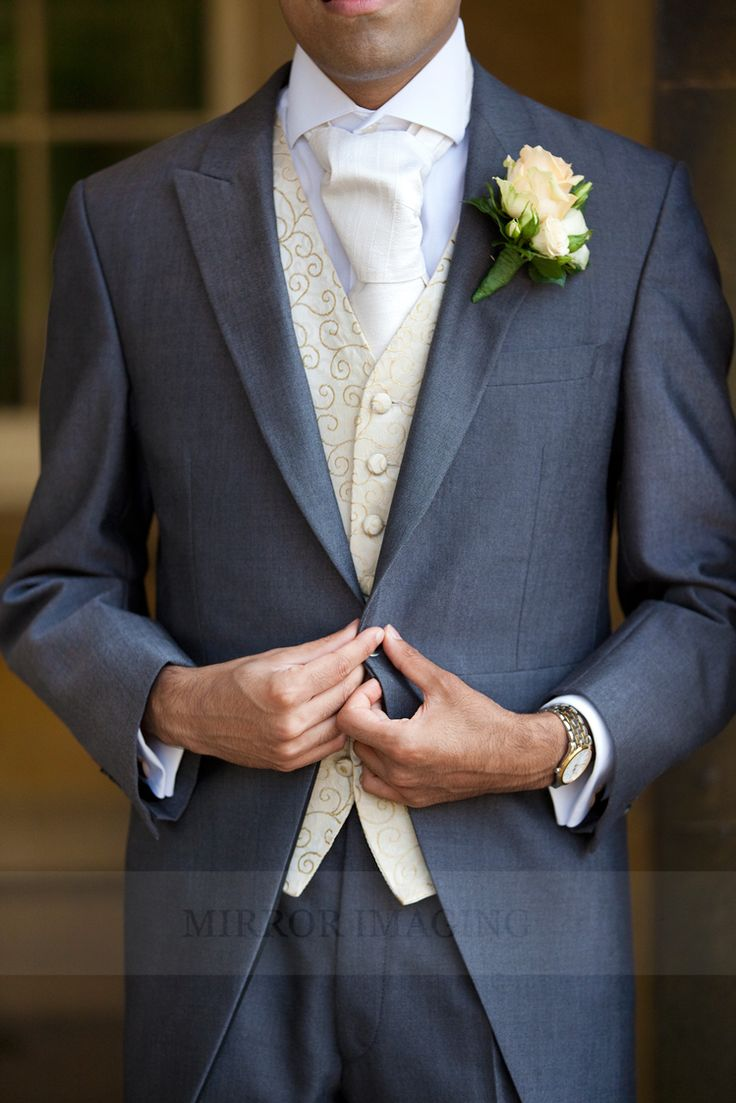 Traditional tails and waistcoat