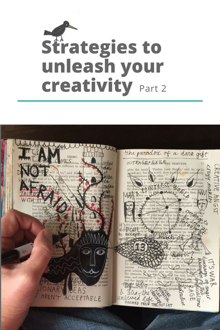 Strategies to unleash your creativity part 2