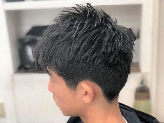 ボーイッシュ 髪型 中学生
