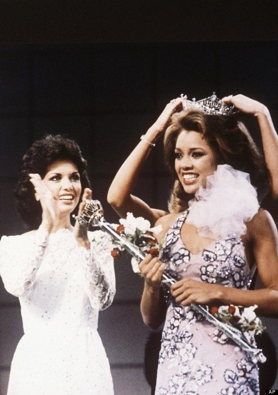 Vanessa Williams 1st Black Miss America September 17, 1983