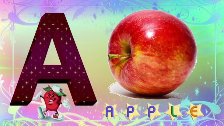 ABC Song For Children -Phonics Song - A For Apple - ABC Alphabet Songs w...