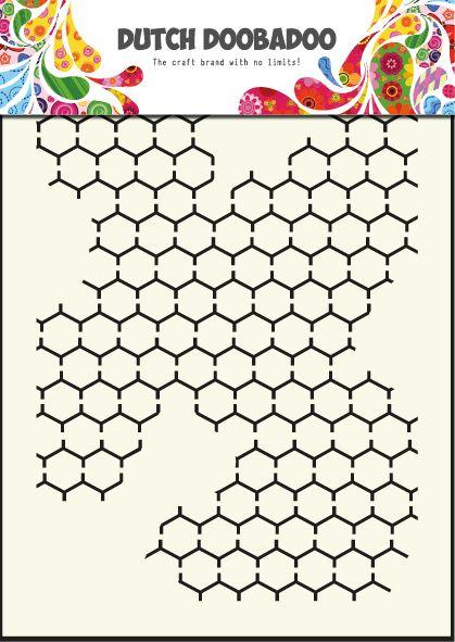 470.715.001 Dutch Doobadoo Mask Art Chicken Wire Formaat A5