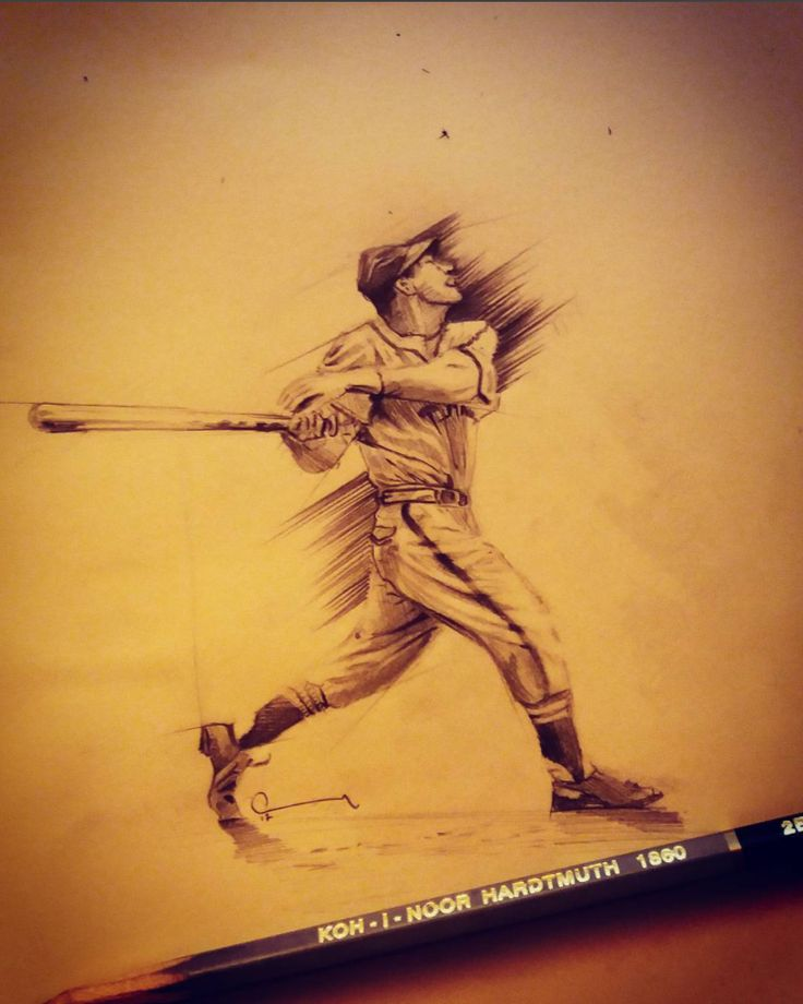 Stan Musial #pencil #sketchbook #illustration #drawing #dessin #artist #creative #sketch #eskiz #dibujo #art #artoftheday #figuredrawing #アート #絵 #рисунок #desenho #çizim #zeichnung #portrait #igart #gesture #resim #karakalem #pencildrawing #draw #art #baseball