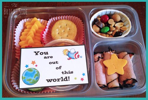 Out of This world lunch idea for kids PLUS 8 FREE printable lunchbox notes!