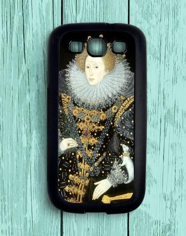 Queen Elizabeth Samsung Galaxy S3 Case
