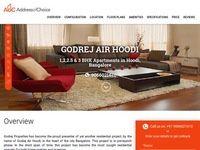Godrej Air Hoodi - Godrej Properties Air New Project Bangalore
