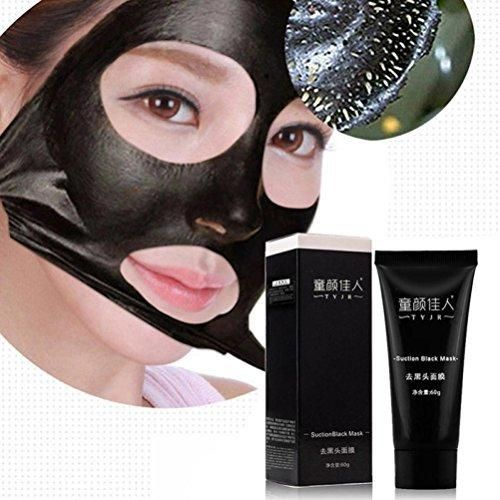 Remove Blackhead Facial MaskBaomabao Deep Cleansing Black Mud Purifying Peel Off Facail Face Mask