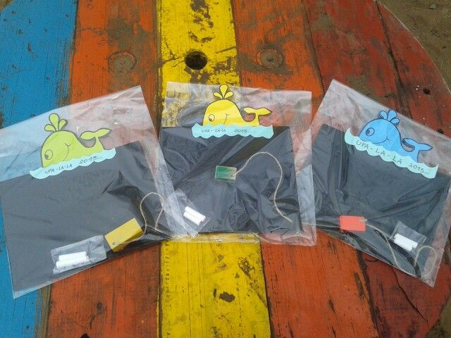 Pizarrones ballenas de colores!