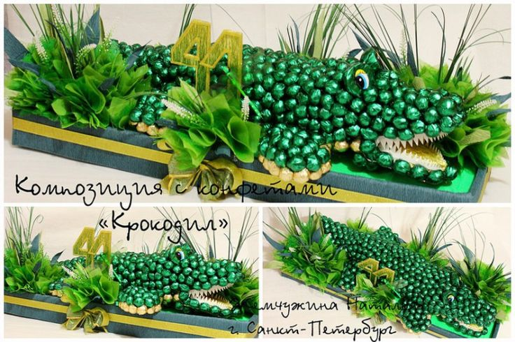 Gallery.ru / Фото #8 - Композиции из конфет - natalydesigns