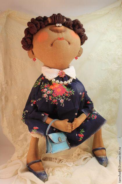 Коллекционные куклы ручной работы. Ярмарка Мастеров - ручная работа Управдом-лучший друг человека!!!. Handmade.